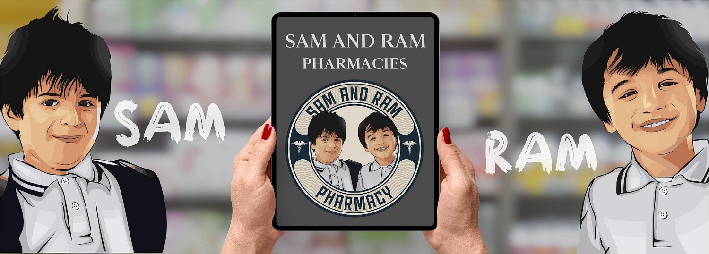 Sam and Ram Pharmacies promo